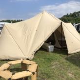 キャンプ始めました